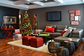 Homes for the Holidays 2012- Edmonton contemporary-living-room
