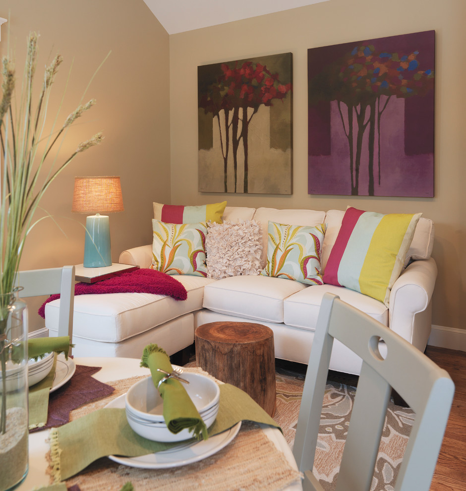 Homes Under 7 sq feet - Contemporary - Living Room - Boston - by