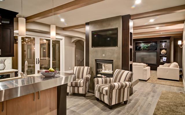 Homestead contemporary-kitchen