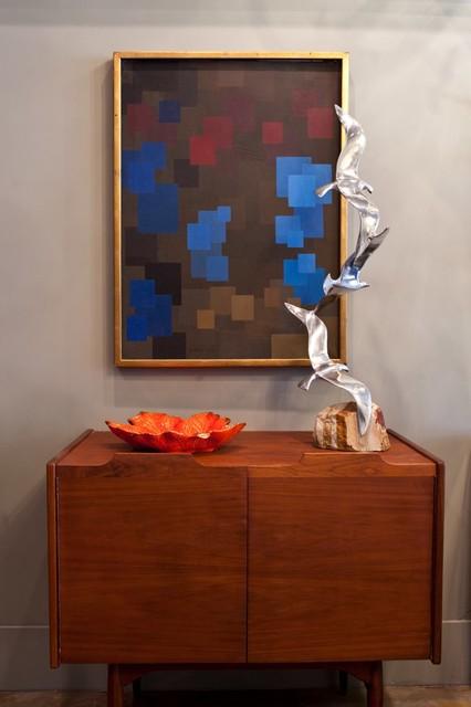 Homme SF modern-living-room