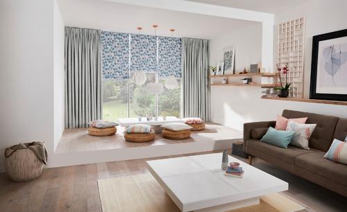 À�リビングにソファを置かない」4つのアイデアと広々インテリア例