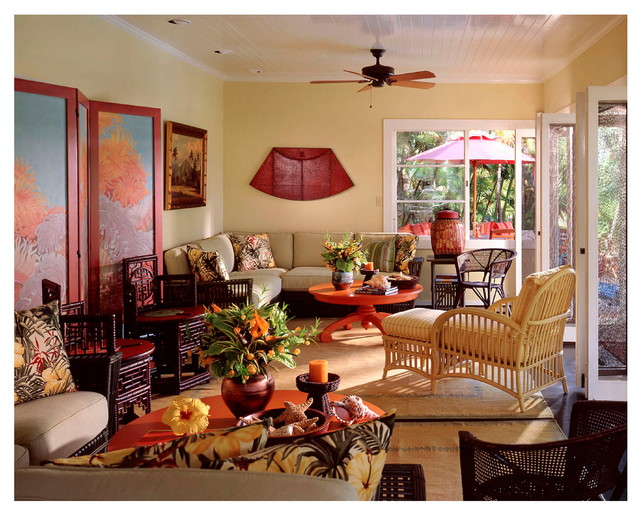 Honolulu 1930 cottage tropical living room other for 1930 living room ideas