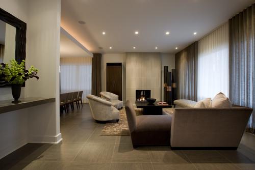 Honore-Contemporary Living Room contemporary living room