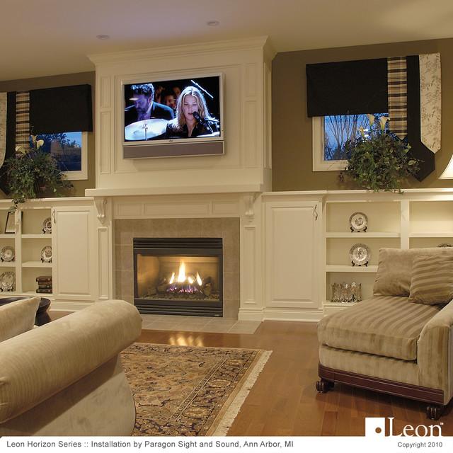 Horizon Series Soundbar Traditional Living Room Detroit By Leon Speak