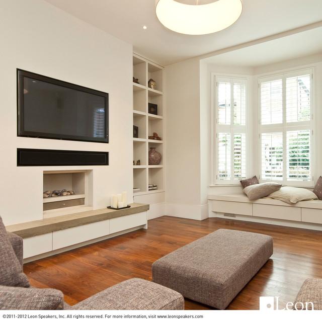 Horizon Series Speakers Living Room contemporary-living-room