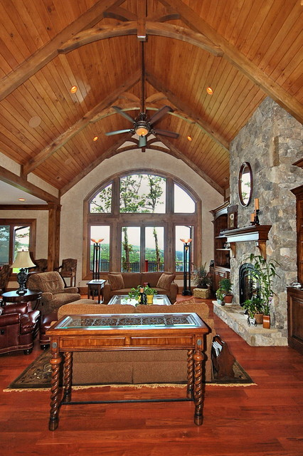 Caudle Residence traditional-living-room