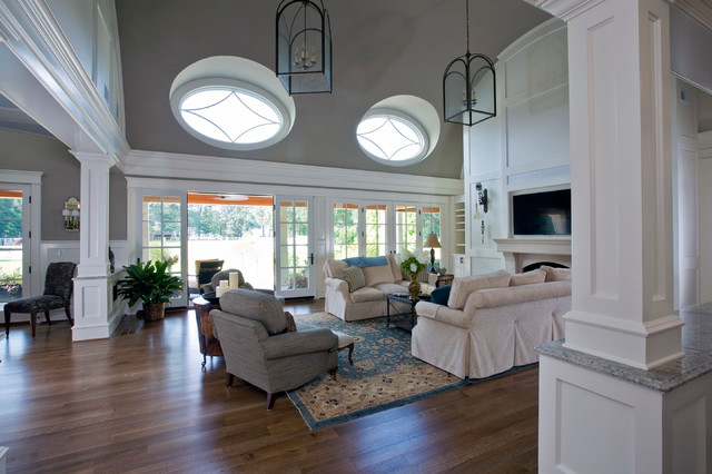 Horse country style traditional living room other metro by stephen t terhune architect - Country style living room ...