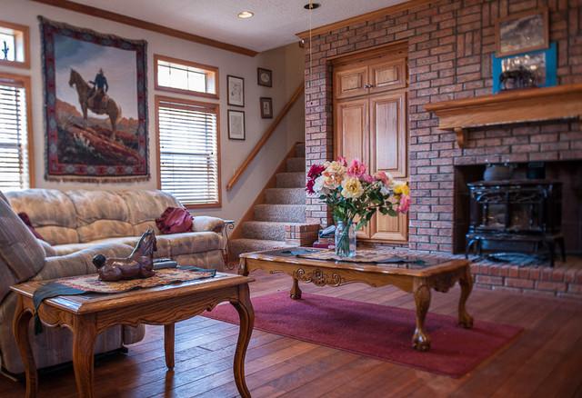 Horse Ranch Stillwater, OK traditional-living-room