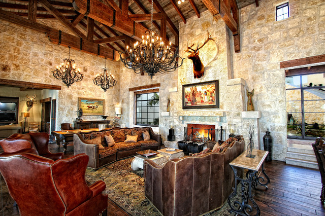 Horseshoe bay lakefront estate by zbranek holt custom for Living room austin