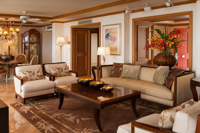 Hospitality A Wailea Resort Hotel Tropical Living Room Hawaii By In