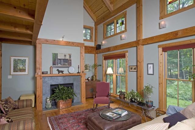 Housatonic Cape traditional-living-room