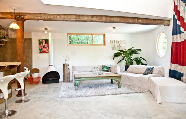 House as a Home industrial-living-room