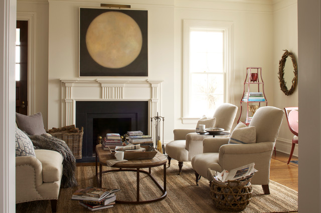 house beautiful feb 2014 - transitional - living room - new york
