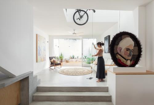 【Houzz】スポーツ用自転車を家の中に収納・保管する5つのアイデア 15番目の画像