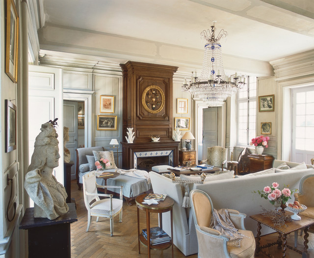 house in normandy france traditional living room boston by charles spada interiors. Black Bedroom Furniture Sets. Home Design Ideas