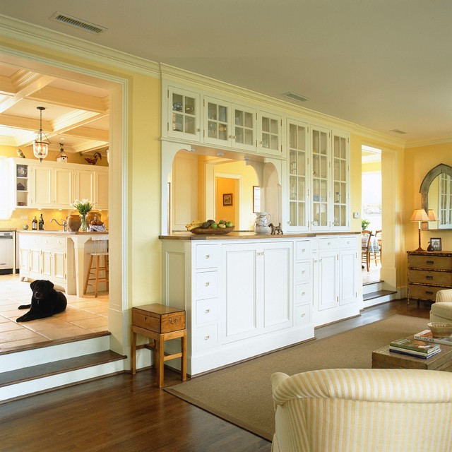 Sunken Living Room Houzz: House In Old Greenwich