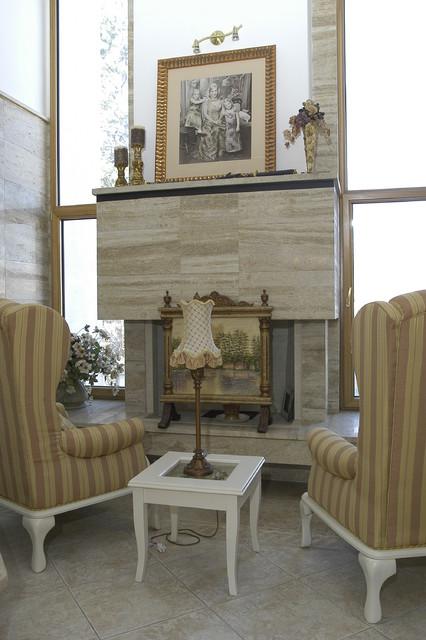 house in Sofia mediterranean-living-room