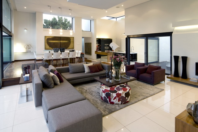 House Mosi Contemporary Living Room Part 17