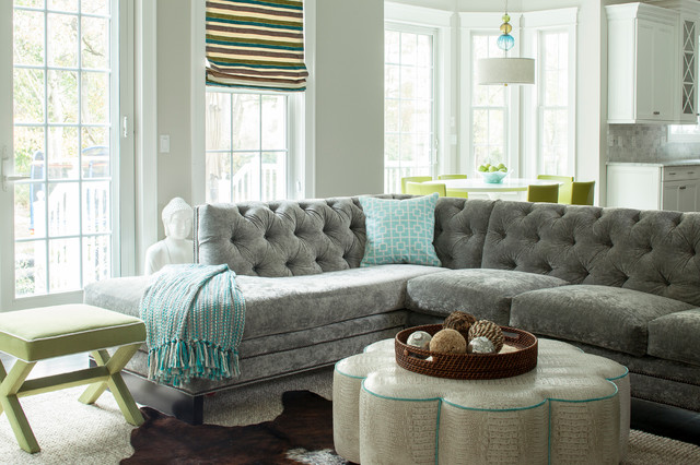 House Of Accent Colors Family Room Playroom And Kitchen