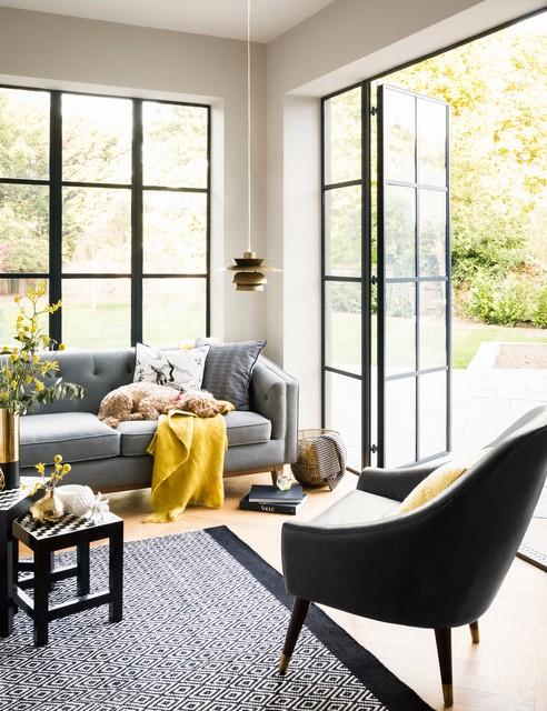 House of Fraser - Living by Christiane Lemieux Living Room コンテンポラリー-居間