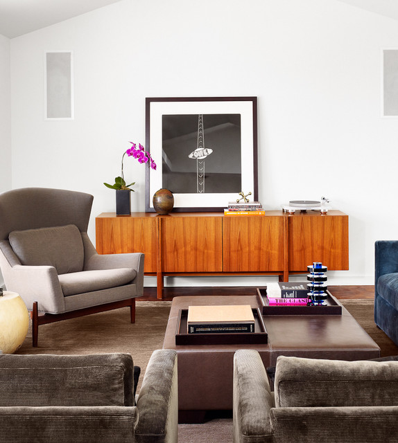 House on a Hill contemporary-living-room