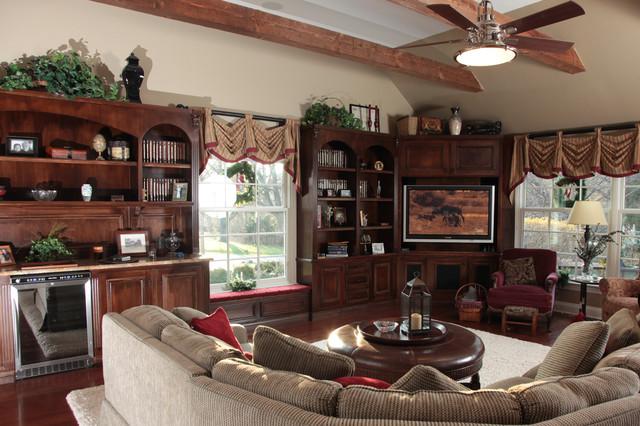 House Renovation traditional-living-room