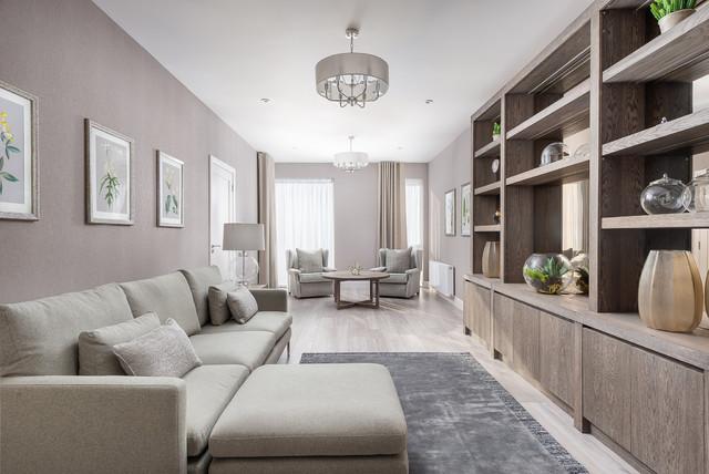 House Sandyford Dublin transitional-living-room