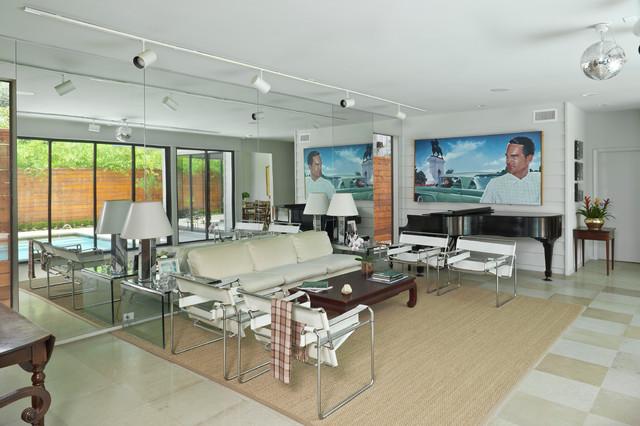 Houston contemporary-living-room