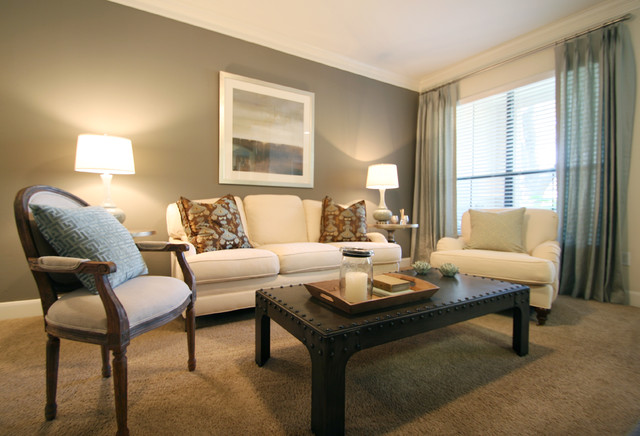 Houston Urban Chic Traditional Living Room Houston By Marie