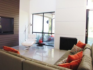 the living room salon costa mesa houzz tour a labor of modern in costa mesa 24328