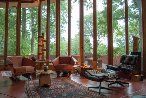 Love the two chairs not the Eames Lounge Chair Where are they from