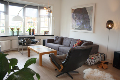 Houzz Tour: Contemporary meets Character in Suburban Delft