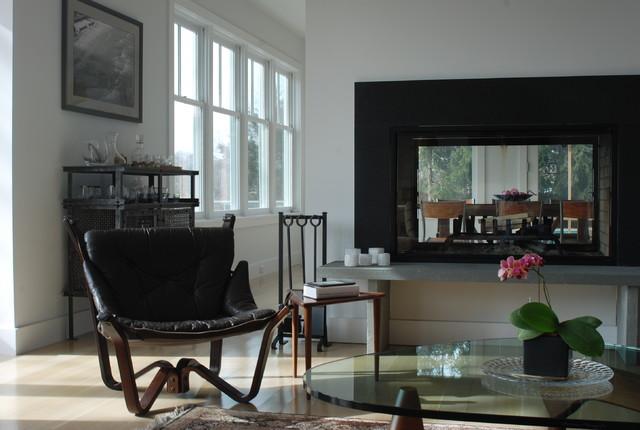 midcentury living room by Jeff Chmielewski