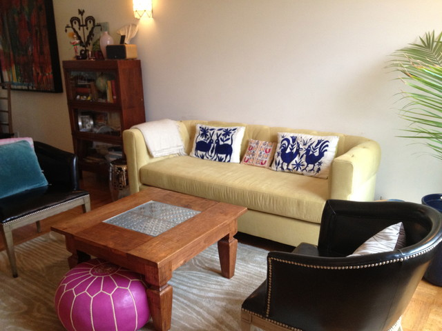 Houzz tour small eclectic san francisco family home for Houzz small living rooms