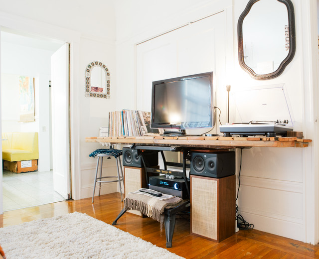 My Houzz: The Inspired Home of Artists - Eclectic - Living Room - san francisco - by Nanette Wong