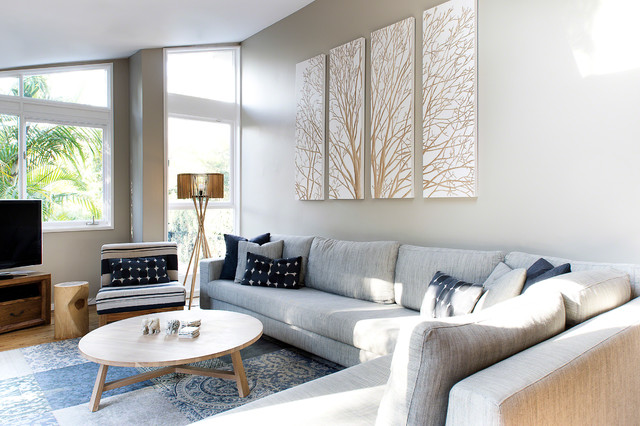 HP Residence Contemporary Living Room Sydney By