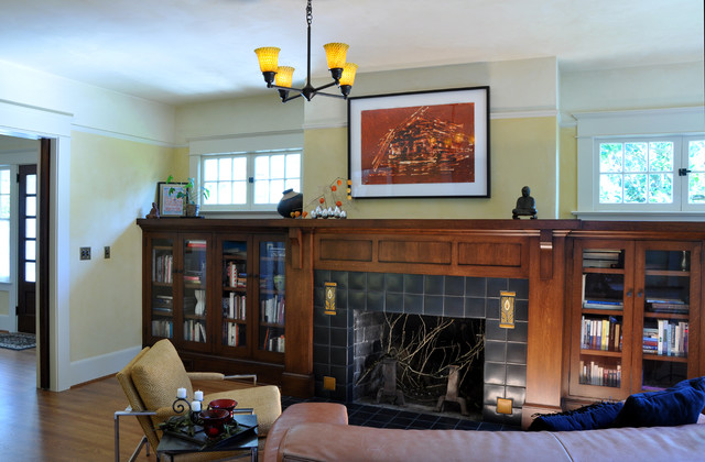 Hulley Home craftsman-living-room