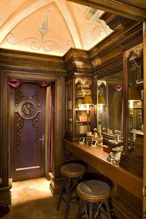 Humidor & Smoking Room - Traditional - Living Room ...