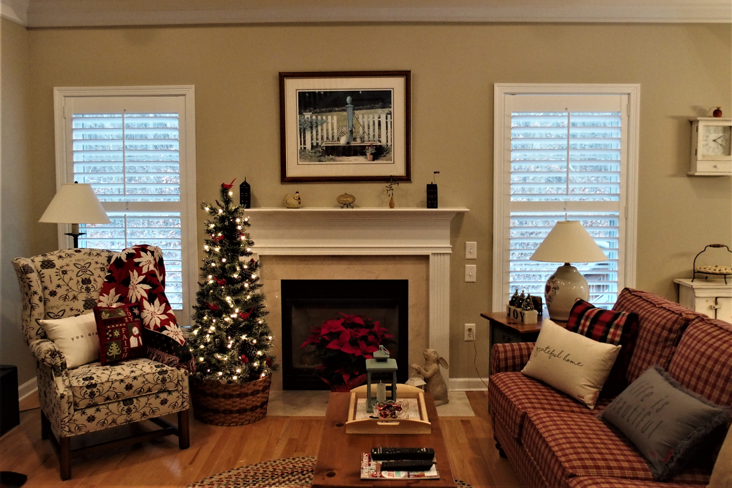 Hunter Douglas New Style Shutters for a Whole House