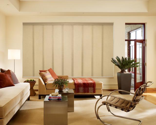 skyline drapes, blinds hunter douglas window-treatments