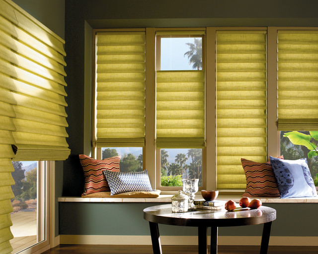 Hunter Douglas Window Coverings transitional-dining-room