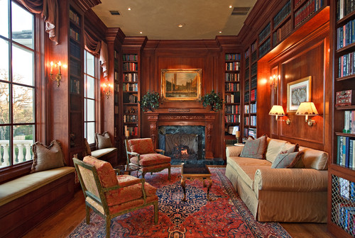 Grand libraries perfect for crime-solving duo Holmes and Watson