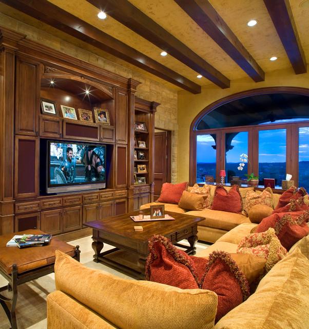 11 Tuscan Transitional Living Room Ideasinterior Design: Hunterwood Tuscan Villa