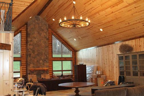 Hunting Lodge Living Room Sacramento By Alpha Omega Western Furnishings