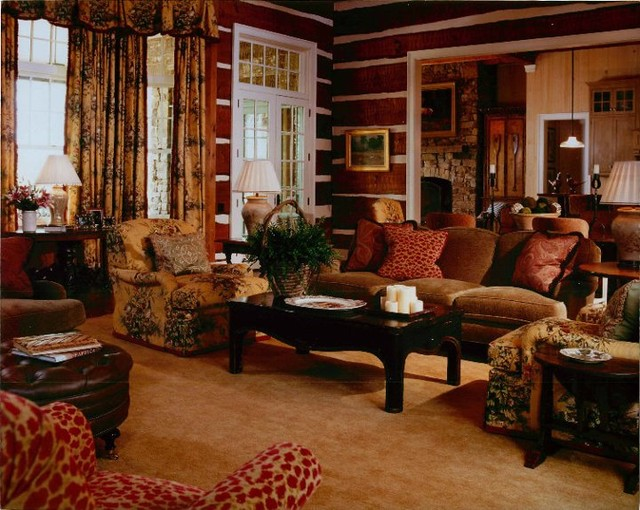 Hunting lodge for Hunting lodge themed living room