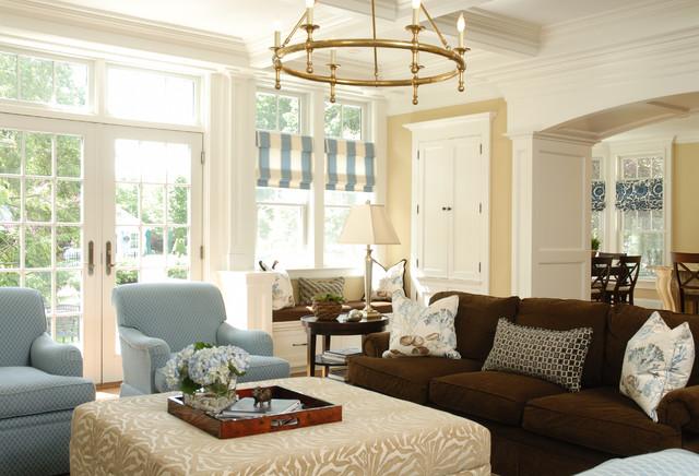 Huntington New York Traditional Living Room New York By Beach Glass Interior Designs