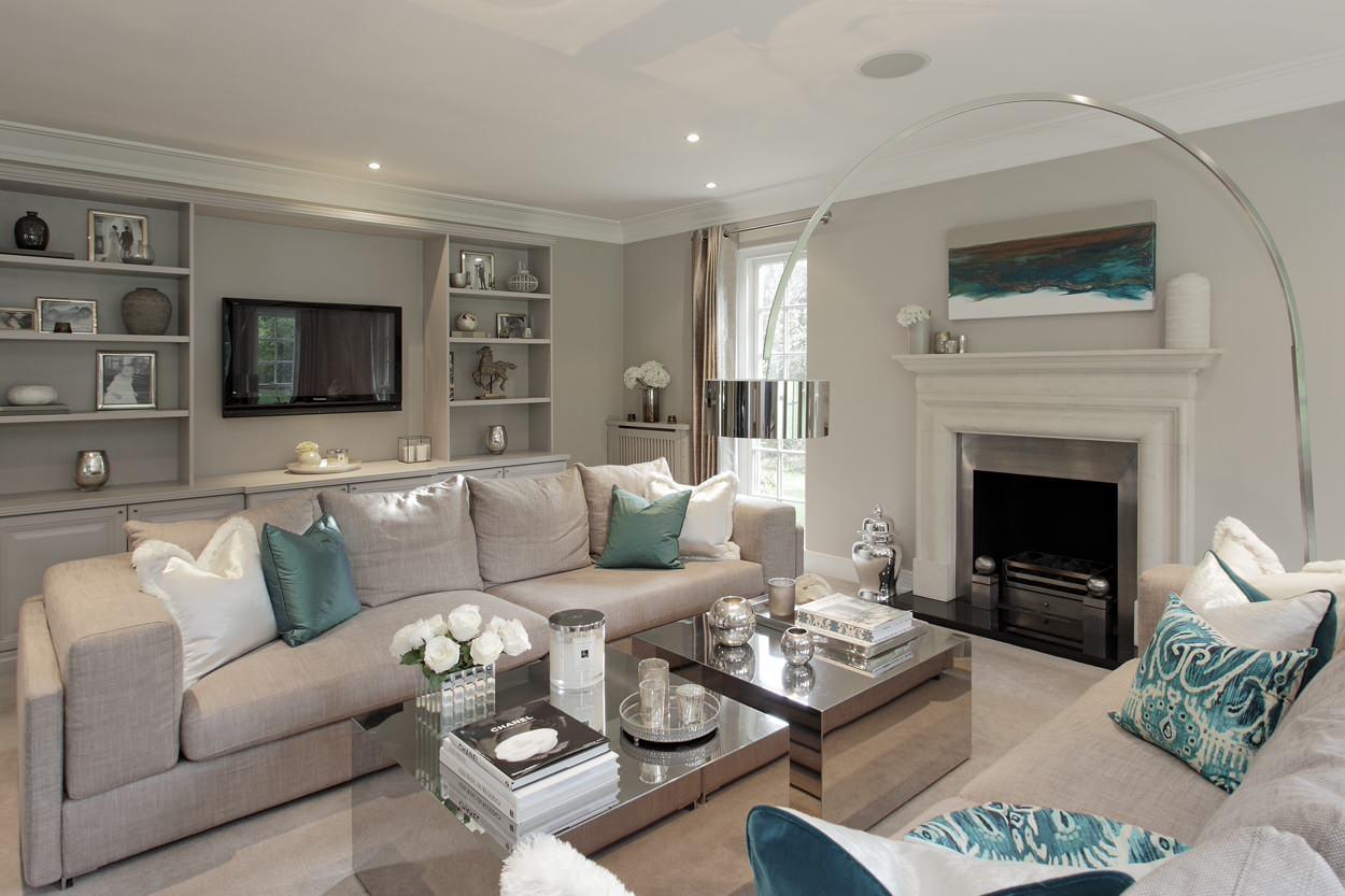 Glam Living Room Ideas Photos Houzz
