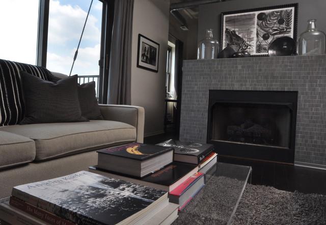 Hyde Park Loft contemporary-living-room