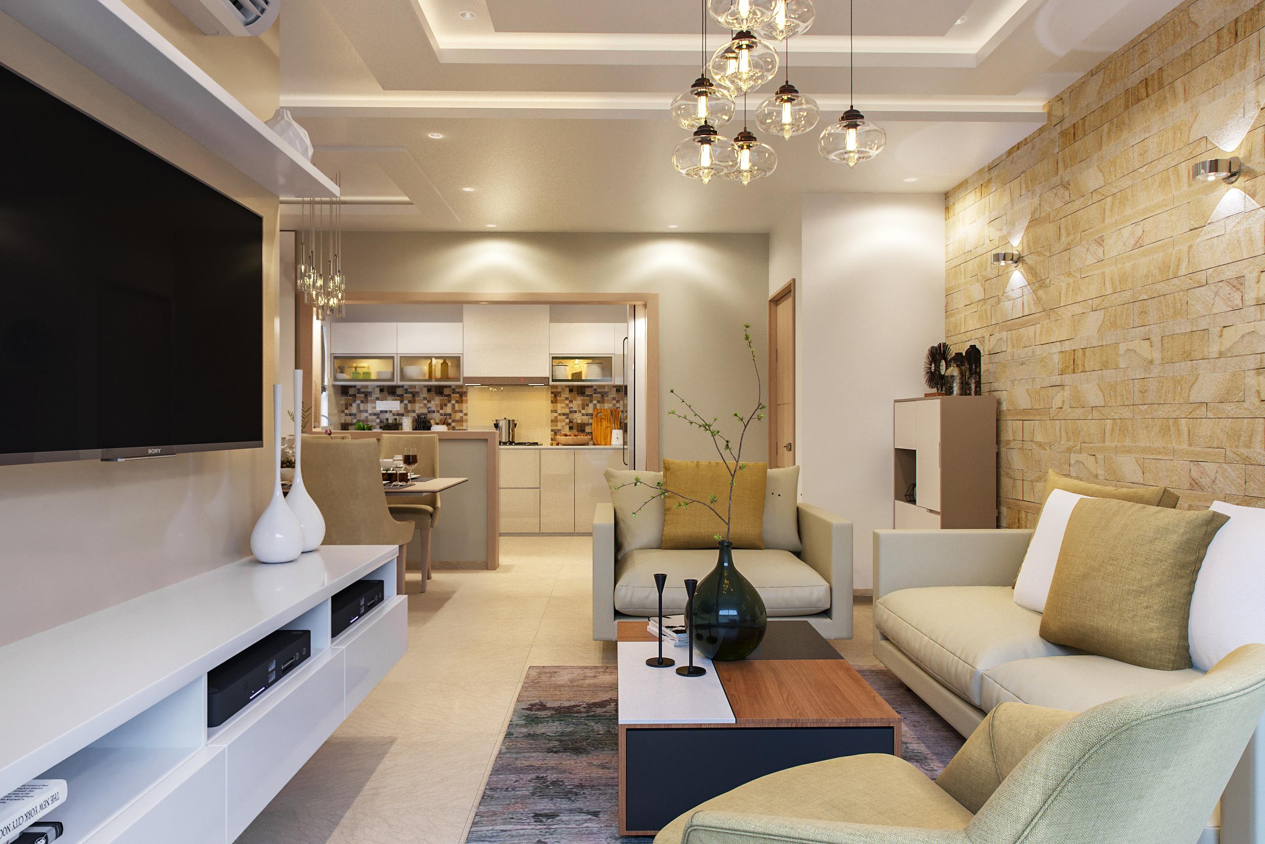 75 Beautiful Wallpaper Living Room Pictures Ideas December 2020 Houzz