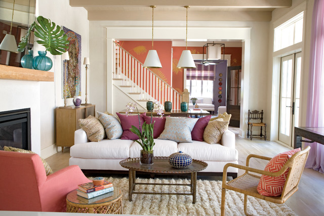 I'On Village 1 - Contemporary - Living Room - Charleston - by Structures Building Company